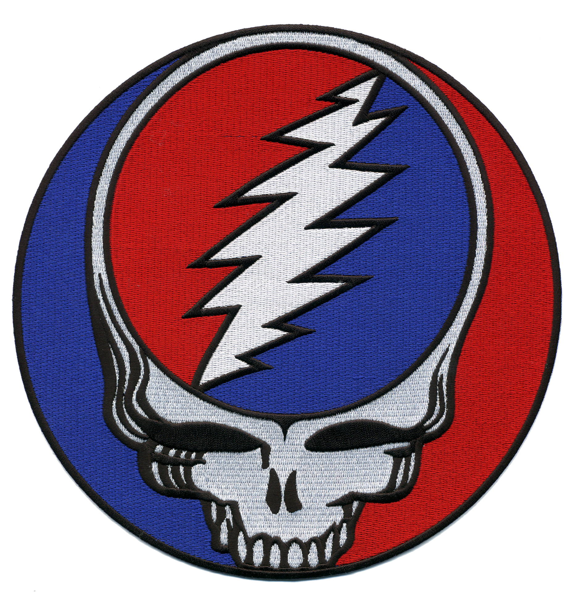 grateful dead xxl steal your face patch gypsy rose