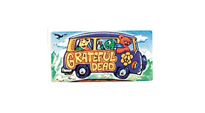 GRATEFUL DEAD TOUR BUS STICKER: Gypsy Rose