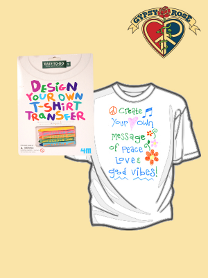 design your own t shirt transfer gypsy rose