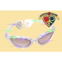 LIGHT UP CATS EYE SUNGLASSES