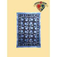 SUN AND MOON TWIN TAPESTRY - BEDSPREAD