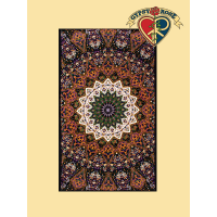 3D Purple Indian Star Mandala Tapestry