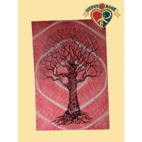 Luna Love Tree Twin Tapestry