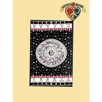 ASTROLOGY TWIN TAPESTRY - BEDSPREAD