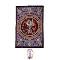 GRATEFUL DEAD SKULL & ROSES BERTHA TWIN TAPESTRY - BEDSPREAD