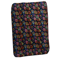 Day Of The Dead Multi Skulls Throw Blanket