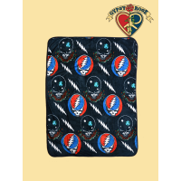 Grateful Dead Steal Your Face / Space Your Face Throw Blanket
