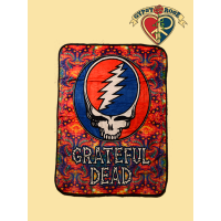 Grateful Dead Psychedelic Steal Your Face Throw