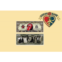 Rolling Stones Million Dollar Bill