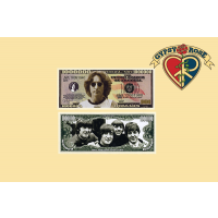 JOHN LENNON MILLION DOLLAR BILL