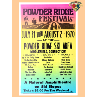 Powder Ridge Festival Poster