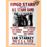 Ringo All Starr Band Poster