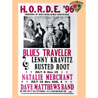 H.O.R.D.E. Blues Traveler 1996 Poster