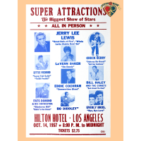 Super Attractions 1957 Poster