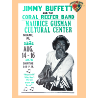Jimmy Buffet 1978 Poster