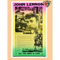 John Lennon Collage Poster