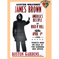 James Brown 1968 Poster