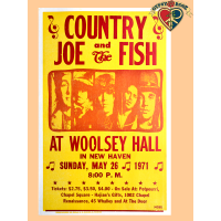 Country Joe 1971 Poster