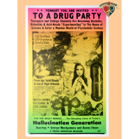 Drug Party Poster