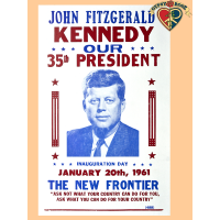 J.F.K. Inauguration Poster