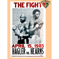 Hagler V Hearns Poster