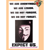 We Are Anonymous Poster