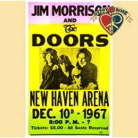 DOORS NEW HAVEN CONCERT POSTER