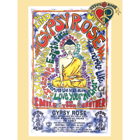 Gypsy Rose 30 Grateful Years Keeping The Vibe Alive Buddha Poster