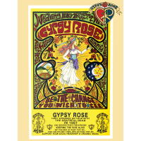 Gypsy Rose 30 Grateful Years Keeping The Vibe Alive Gypsy Girl Poster