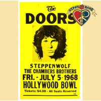 DOORS HOLLYWOOD BOWL CONCERT POSTER