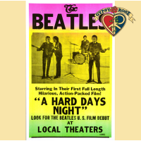 BEATLES HARD DAYS NIGHT CONCERT POSTER