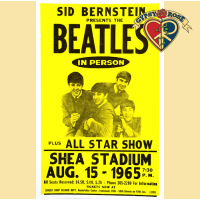 THE BEATLES AT SHEA STADIUM CONCERT POSTER