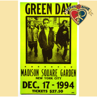 POSTER - GREEN DAY MADISON SQUARE GARDEN CONCERT POSTER
