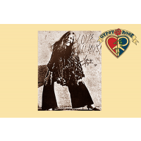 JANIS JOPLIN LOVE ALWAYS SEPIA PRINT