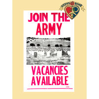 Join The Army Vacancies Available Historical Poster