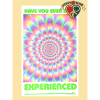 Have You Ever Been Experienced Psychedelic Poster