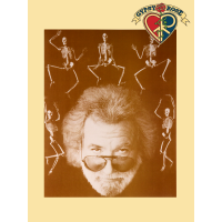 Jerry with Skeleton Mini Poster