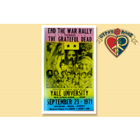 END THE WAR RALLY POSTER