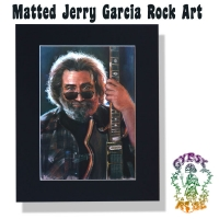 Jerry Garcia Matted Art Poster