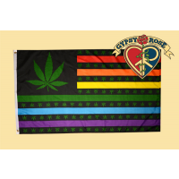 Rainbow Marijuana Flag