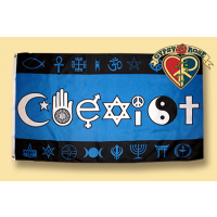 COEXIST SYMBOLS FLAG