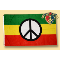 RASTA PEACE FLAG
