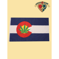 Green Leaf Colorado Flag