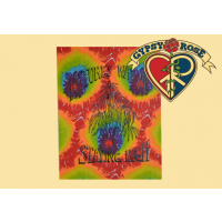 Tye Dye Nature's Way Of Staying High Tapestry