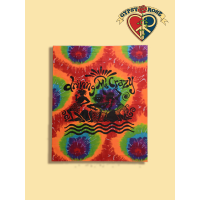 DRIVING ME CRAZY JAMMIN' WALL HANGING TYE DYE TAPESTRY