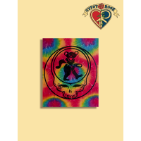 THE GRATEFUL DEAD STEAL YOUR FACE DANCING BEAR TYE DYE TAPESTRY