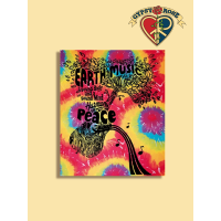 EARTH MUSIC TYE DYE TAPESTRY