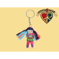 No Hurry To Worry Doll Keychain