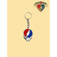 Grateful Dead Steal Your Face Keychain