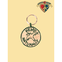 Hemp Natural - Dove Keychain